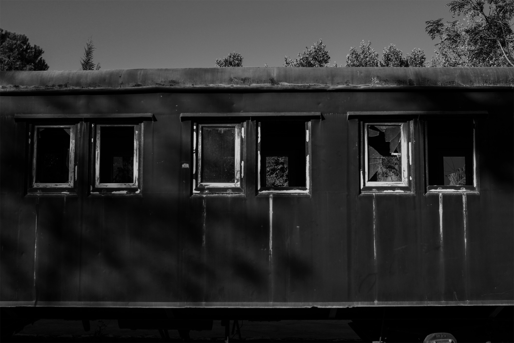 The trains' disappearance